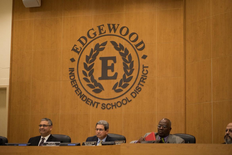 Edgewood ISD school board meeting