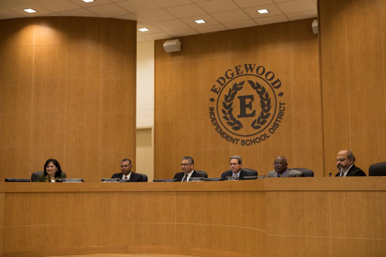 The Edgewood ISD school board.