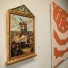 """Patrick McGrath Muñiz's piece """"The Swing"""" is displayed in the show Images of Power at Freight Gallery & Studios."""