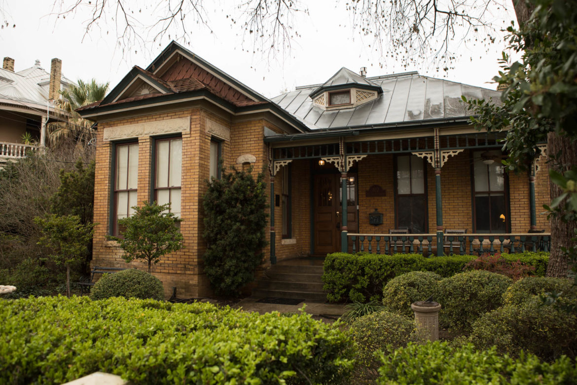The Jackson House Bed and Breakfast in King William.