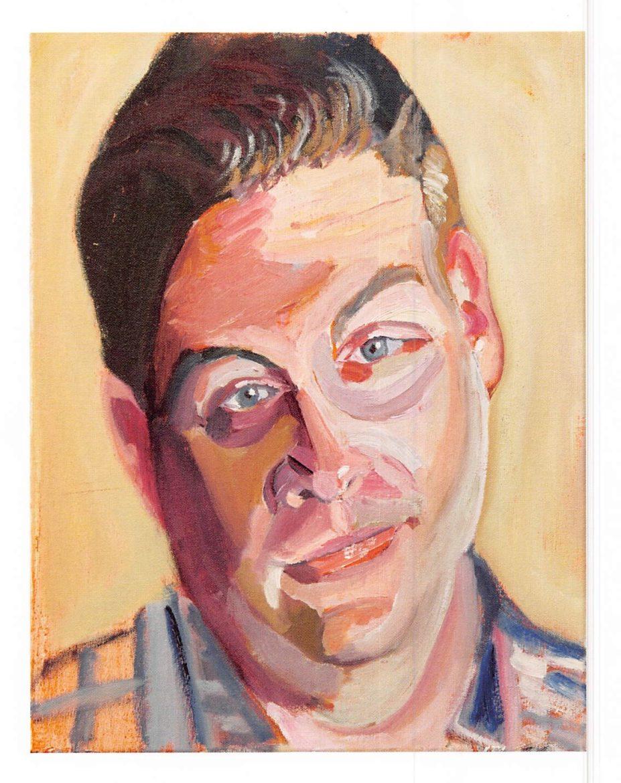 A portrait of Josh Michael by President George W. Bush.