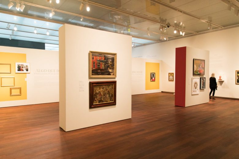 The Something to Say Exhibition at the McNay Art Museum is running until May 6, 2018.