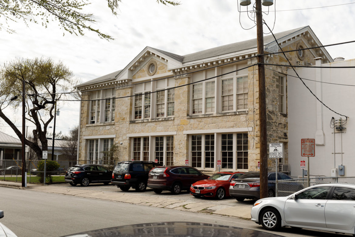 The 4th Ward School or Lamar School historic building is currently used as office space.
