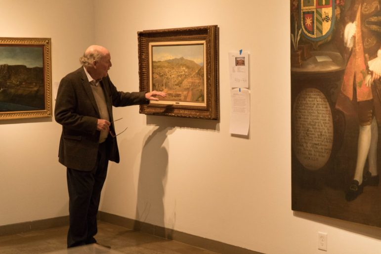 San Antonio Museum of Art curator of Latin art.
