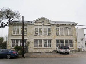 Developers plan to restore the historic building at 141 Lavaca St.