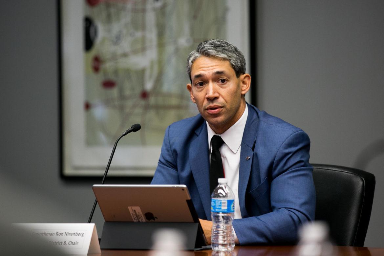 Mayor Ron Nirenberg