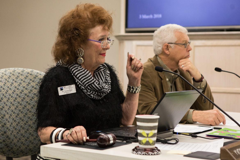 Alamo Colleges board president Yvonne Katz.