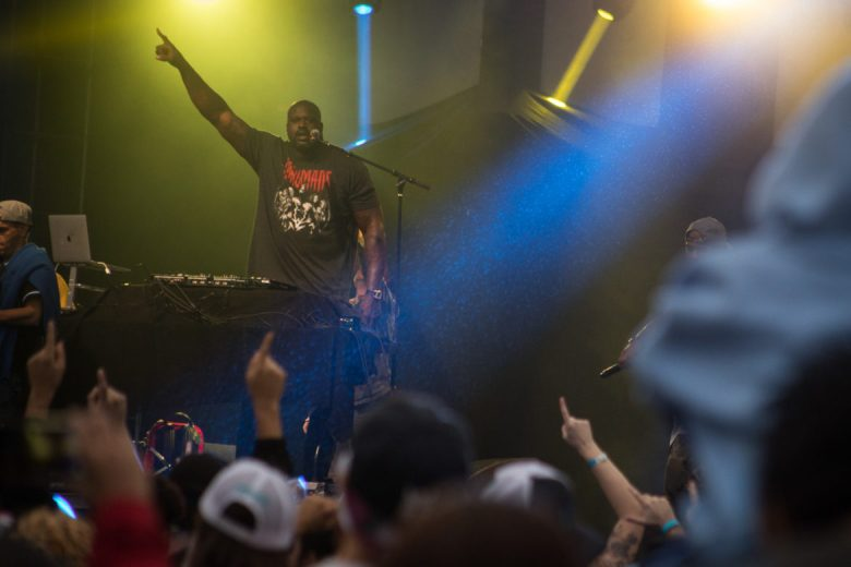 Shaq, otherwise known as DJ Diesel, performs at Botánica Music Festival.