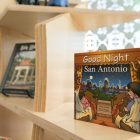 The Tricentennial merchandise shop at Centro de Artes sells San Antonio-themed books.