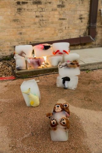 Carol Cunningham's work will join that of five other local artists for CAM Happening Take 3 outside the San Antonio Museum of Art, curated by Christie Blizard.