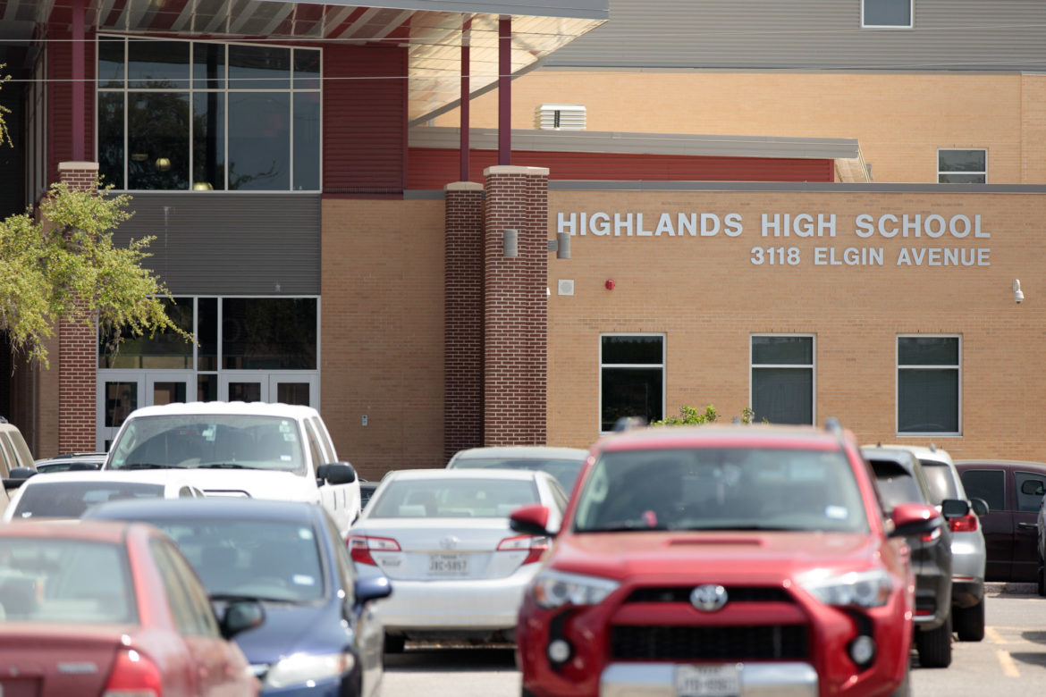 SAISD's Highlands High School will become an in-district charter.