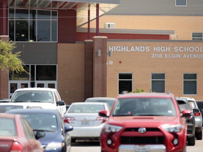 SAISD's Highlands High School will become an in-district charter.