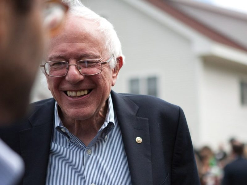 Bernie Sanders will be speaking at the Laurie Auditorium at Trinity University on Friday.