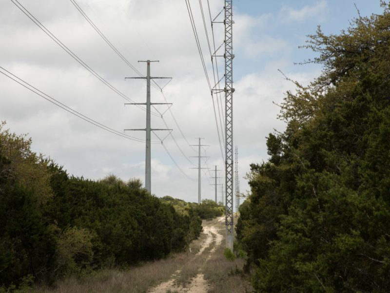 A CPS energy power line borders Rancho Sierra and other ranches adjacent.