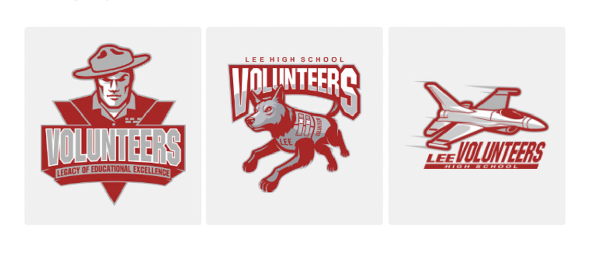 Three options were given to the students to select a new mascot for the renamed school.