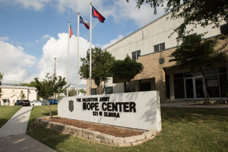 The Salvation Army Hope Center is located at 521 W. Elmira St.