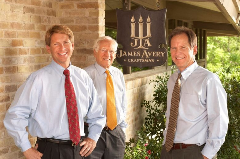 James Avery with sons.