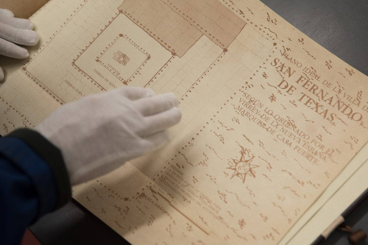 The founding documents of the city of San Antonio were recreated in 1991 with a Spanish to English translation.