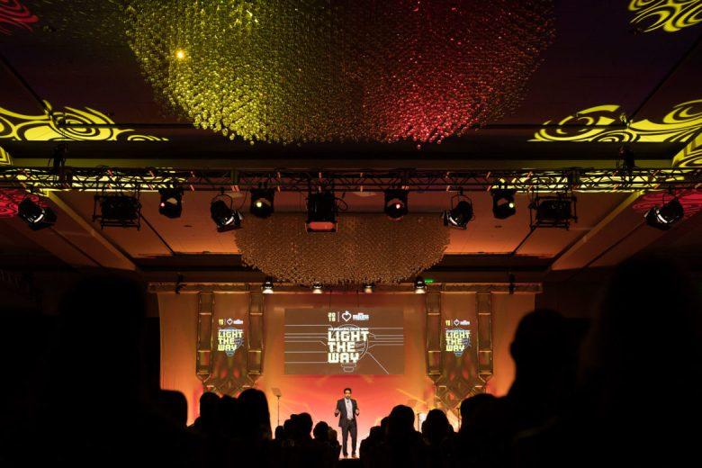 Keynote speaker Salman Khan, founder of Khan Academy.