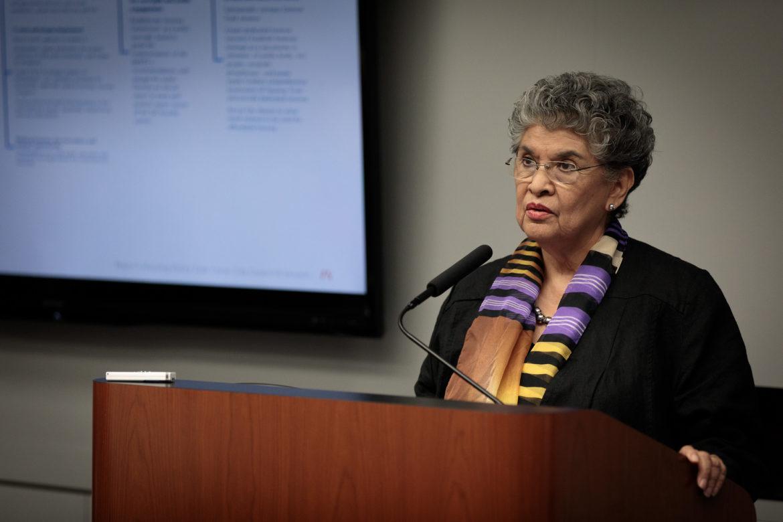 Mayor's Housing Policy Task Force Member María Antoinetta Berriozábal