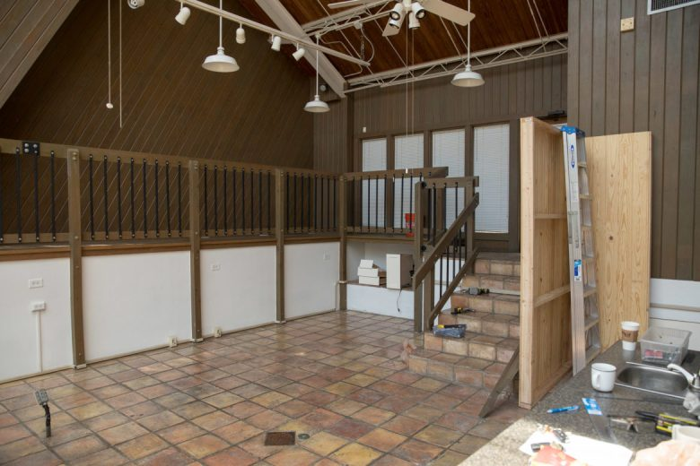 The interior will be renovated to accommodate nearly 30 customers.