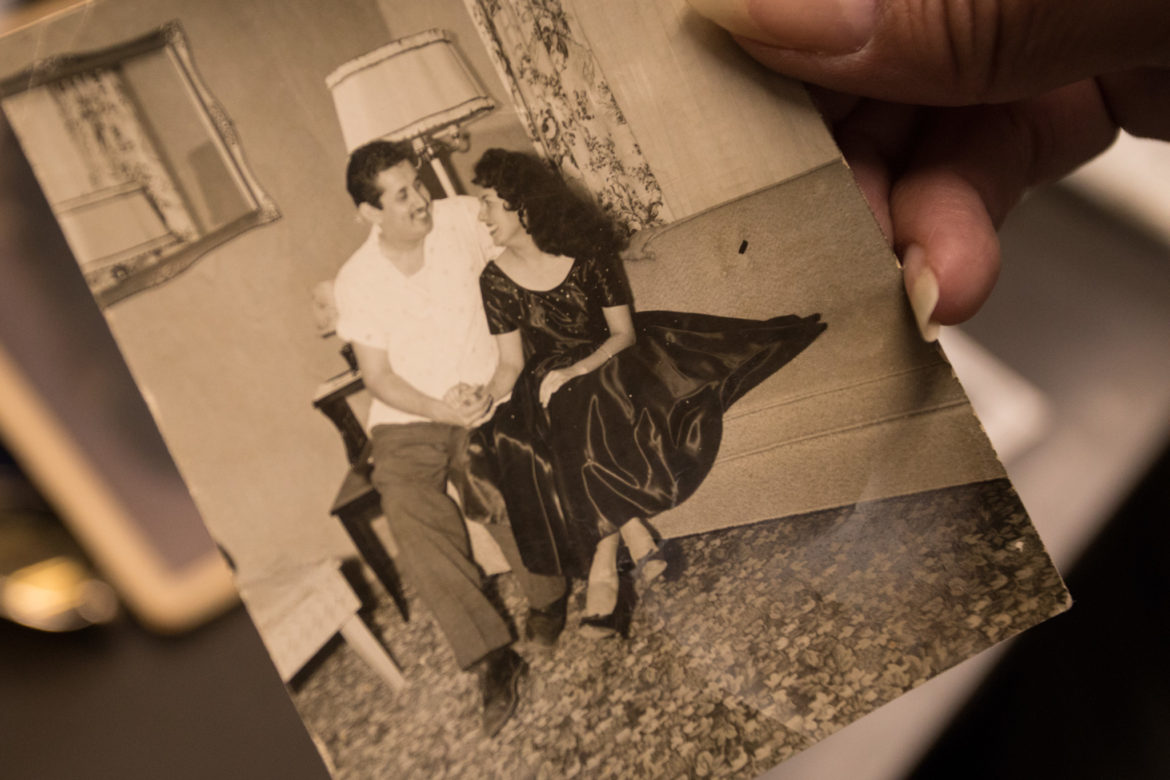 (From left) Jose? C. Barrios and Viola Barrios.