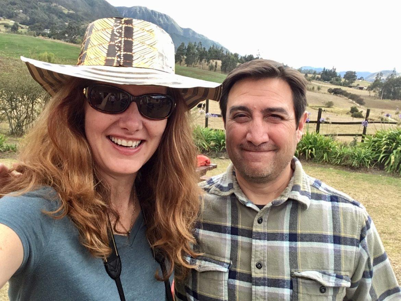 Slab Cinema's owners, Angela and Rick Martinez.
