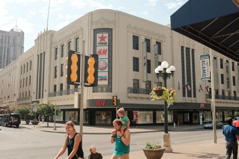 The Joske's building located in downtown San Antonio.
