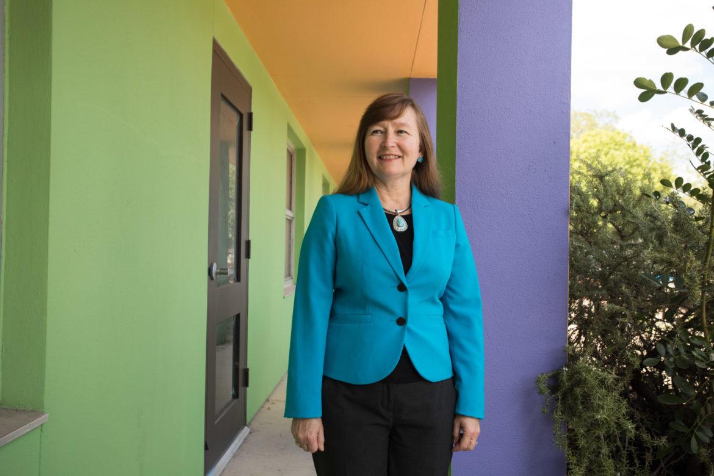 Family Service Association's new CEO Mary Garr.