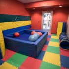 A sensory room at the Children's Shelter.