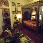 Walter Nold Mathis's bedroom suite in Villa Finale: Museum & Gardens.