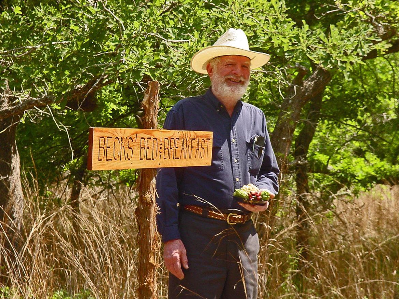 Organic farmer Malcolm Beck