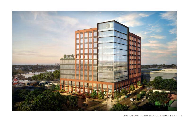 The proposed office building at 2100 Broadway will likely be less than 11 stories as originally planned by developers.