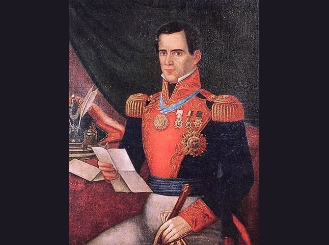 Antonio López de Santa Anna.