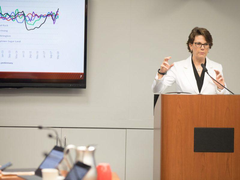 City Metro Health Director Colleen Bridger