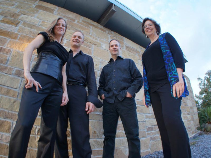 The SOLI Chamber Ensemble is clarinetist Stephanie Key, cellist David Mollenauer, violinist Ertan Torgul and pianist Carolyn True