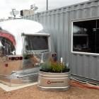 The Airstream trailer holds StreetFare SA's bar.