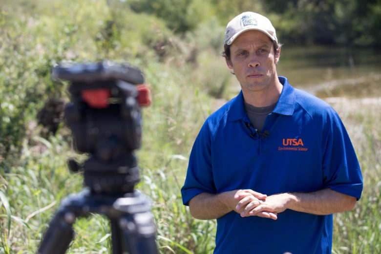 UTSA Assistant Professor Brian Laub