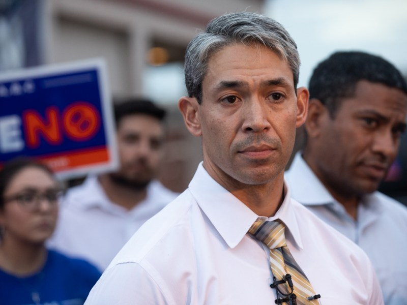 Mayor Ron Nirenberg speaks about Chris Steele cancelling the debate.