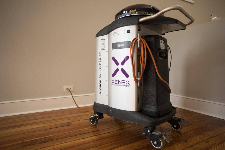 LightStrike Germ-Zapping Robot named Eden.