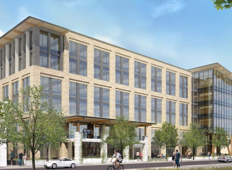 Hixon Properties is partnering with the Cavender family to develop a six-story mixed-use building, set to open in February 2020 as The Soto.