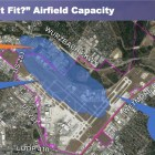 One of three options that the Airport Advisory Committee is exploring would close and relocate runways.