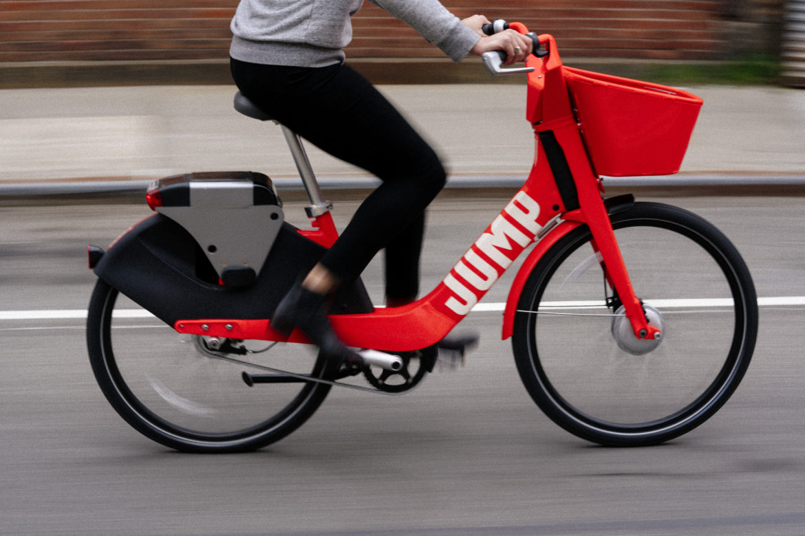 JUMP, a dockless electric bicycle sharing company could be coming to San Antonio.