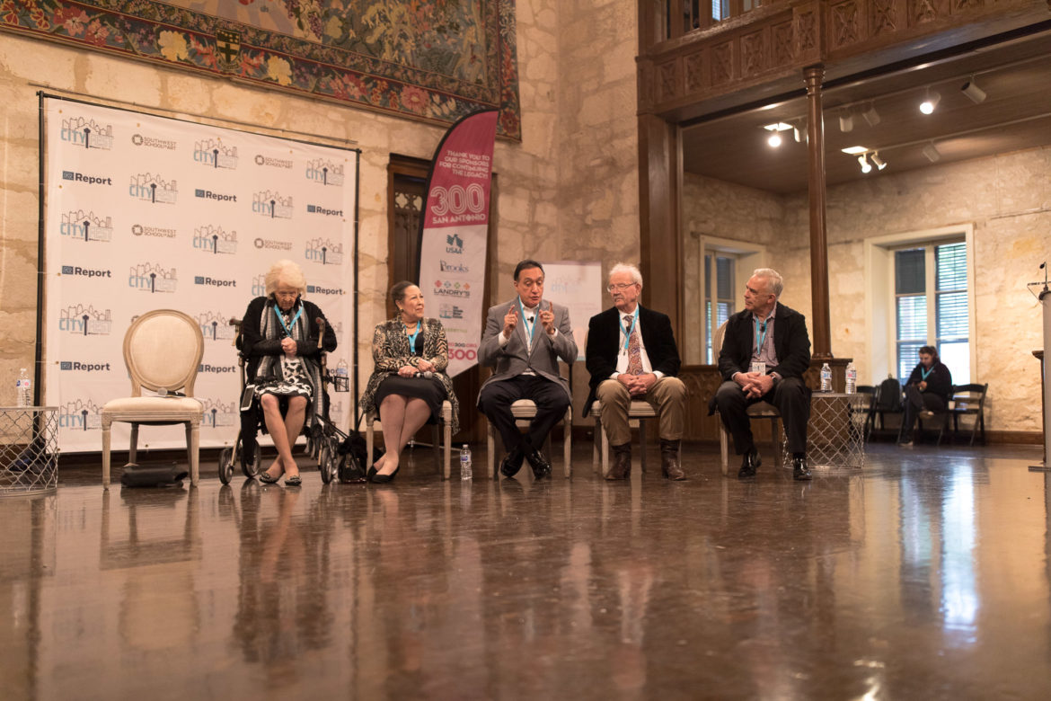 A conversation with San Antonio Icons and Turning Points in Contemporary City History.