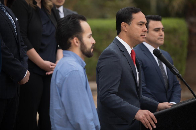 United States Representative Joaquin Castro (D20) denounces illegal deportation of United States citizen Julio Cesar Ovalle.