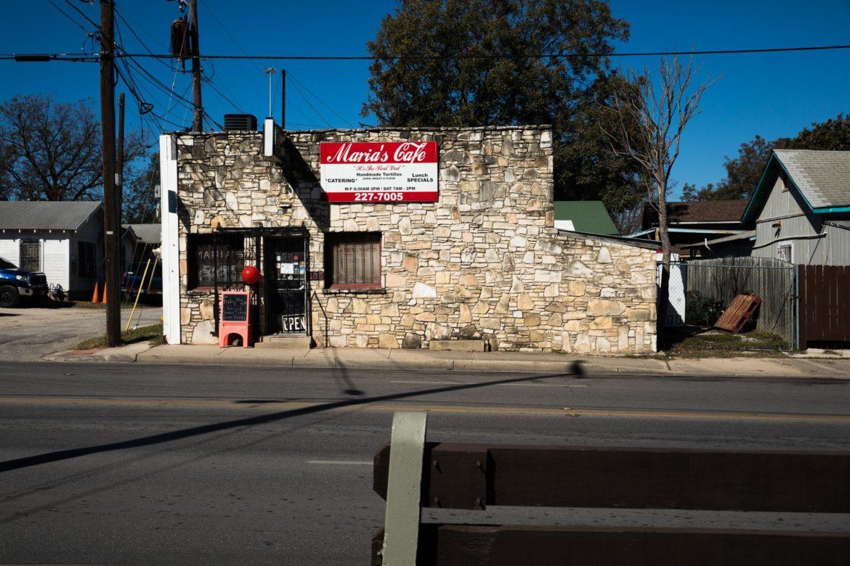 Maria's Cafe located at 1105 Nogalitos Street.