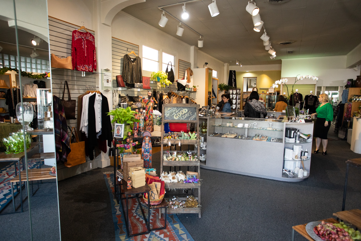 The interior of Kathleen Sommers Retail.