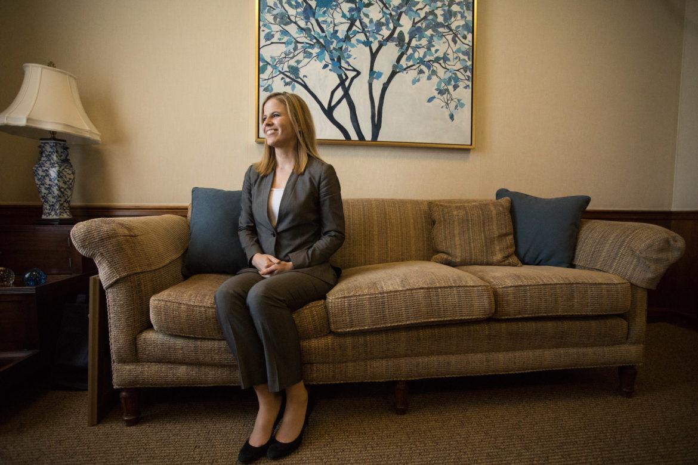 Helen Loring Dear, Porter Loring president.