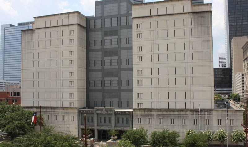 The Federal Detention Center in Houston, Texas.