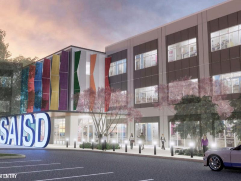 HDRC has approved the design of SAISD's new headquarters.